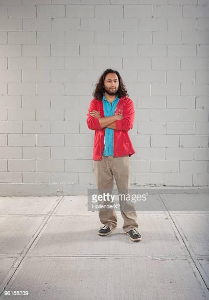 Portrait of Pakistani man