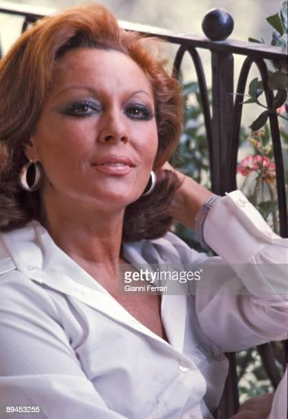 Portrait of Paquita Rico singer