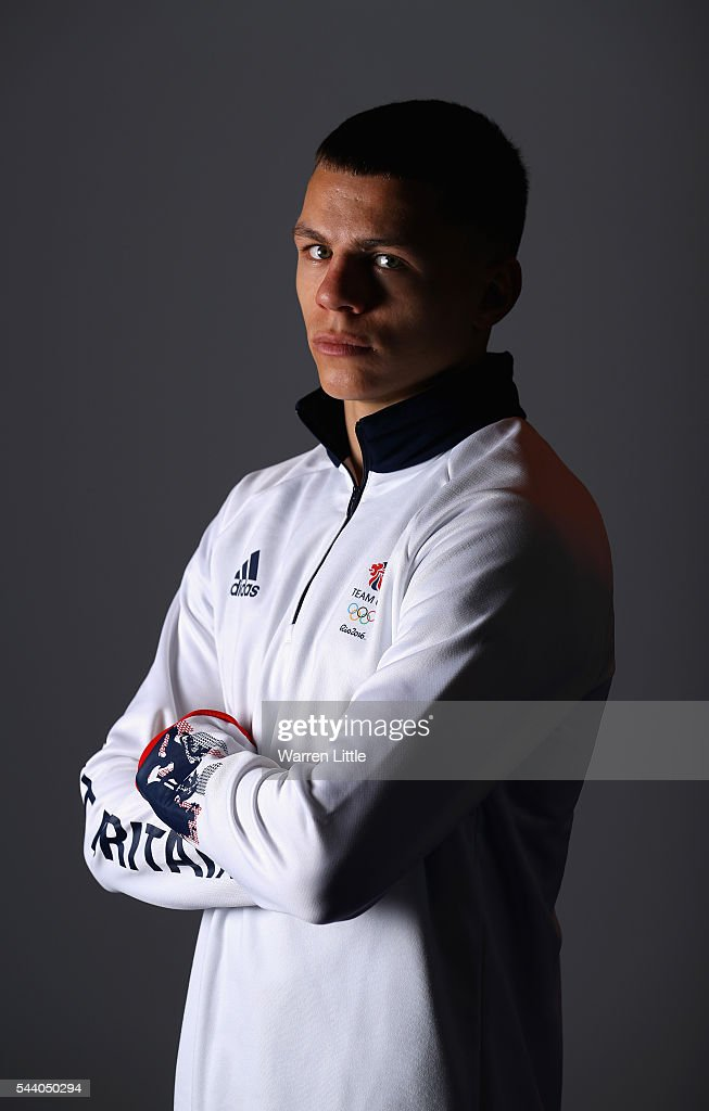 A portrait of Pat McCormack a member of the Great Britain Olympic team during the Team GB Kitting Out ahead of Rio 2016 Olympic Games on July 1, 2016 in Birmingham, England.