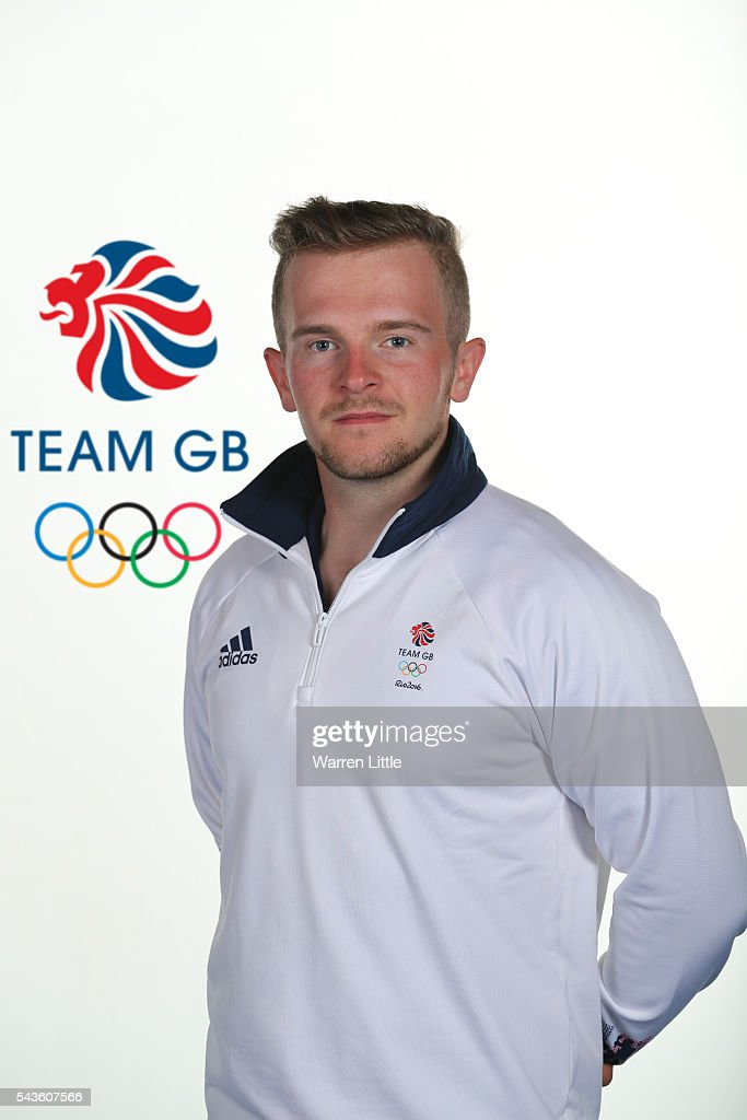 A portrait of Patrick Huston a member of the Great Britain Olympic team during the Team GB Kitting Out ahead of Rio 2016 Olympic Games on June 29, 2016 in Birmingham, England.