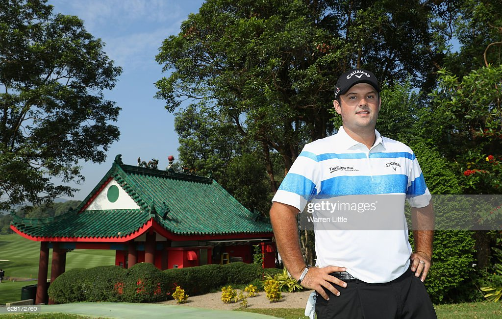 A portrait of Patrick Reed of the USA during the pro-am ahead of the UBS Hong Kong Open at The Hong Kong Golf Club on December 7, 2016 in Hong Kong, Hong Kong.