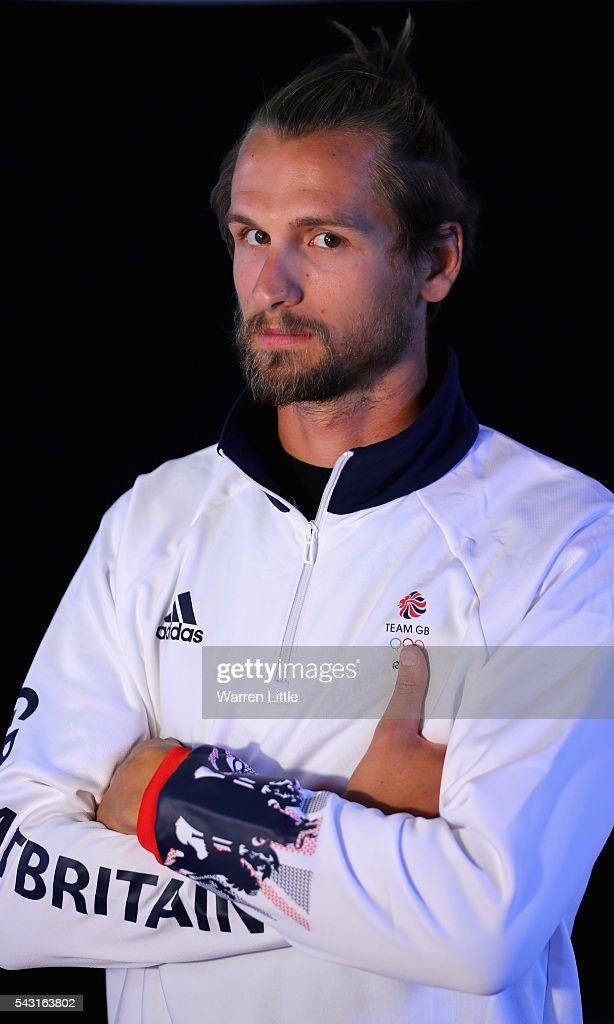 A portrait of <a gi-track='captionPersonalityLinkClicked' href=/galleries/search?phrase=Paul+Bennett+-+Rower&family=editorial&specificpeople=15976732 ng-click='$event.stopPropagation()'>Paul Bennett</a> a member of the Great Britain Olympic team during the Team GB Kitting Out ahead of Rio 2016 Olympic Games on June 26, 2016 in Birmingham, England.