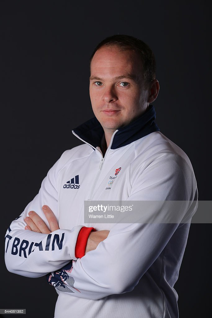 A portrait of <a gi-track='captionPersonalityLinkClicked' href=/galleries/search?phrase=Paul+Drinkhall&family=editorial&specificpeople=809055 ng-click='$event.stopPropagation()'>Paul Drinkhall</a> a member of the Great Britain Olympic team during the Team GB Kitting Out ahead of Rio 2016 Olympic Games on July 1, 2016 in Birmingham, England.