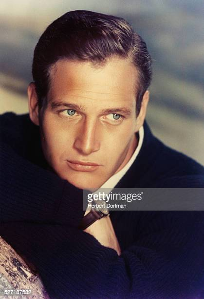 Portrait of Paul Newman