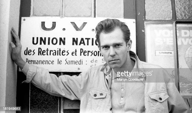 Portrait of Paul Simonon of Havana 3am France 1990