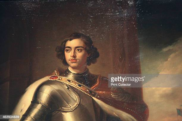 'Portrait of Peter the Great' mid 19th century Peter I succeeded his father Alexis I as Tsar in 1682 initially ruling jointly with his halfbrother...