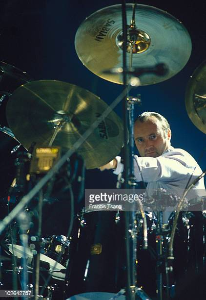 Portrait of Phil Collins singer and musician