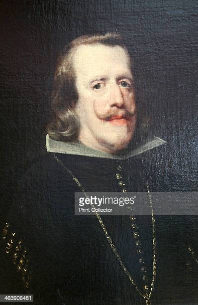 'Portrait of Philip IV of Spain' c1656c1660 Detail Philip was King of Spain from 1621 His reign saw a decline in the economic and military fortunes...