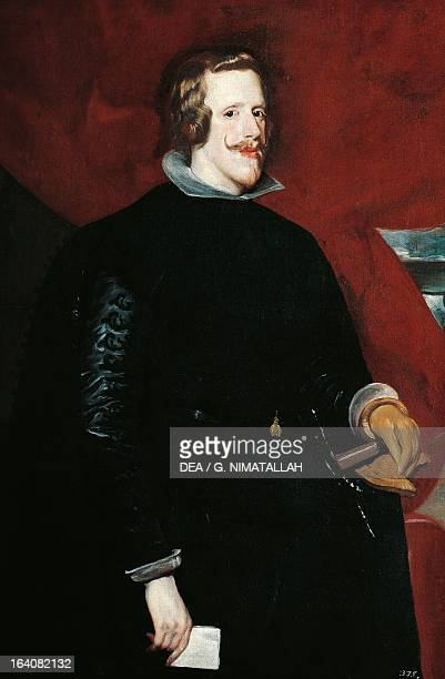 Portrait of Philip IV of Spain King of Spain Painting by Diego Velasquez Vienna Kunsthistorisches Museum