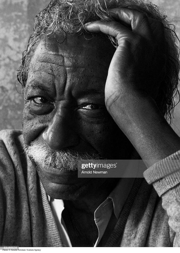 Portrait of photographer Gordon Parks June 16, 1992 in New York City.
