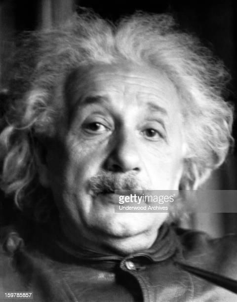 Portrait of physicist Albert Einstein June 4 1938