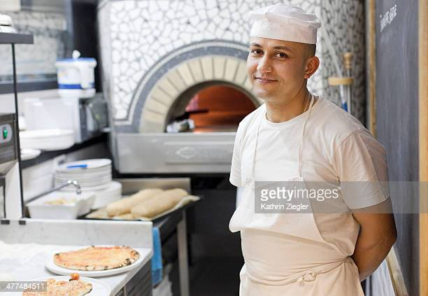 portrait of pizza chef