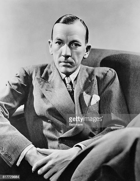 Portrait of Playwright and Composer Noel Coward