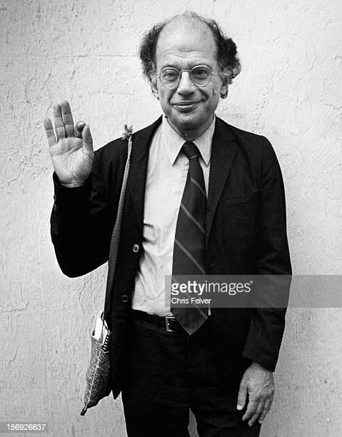 Portrait of poet Allen Ginsberg Boulder Colorado 1981