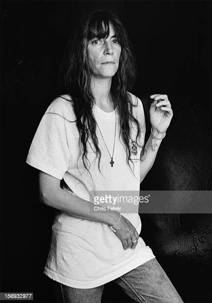Portrait of poet and musician Patti Smith New York New York 1996