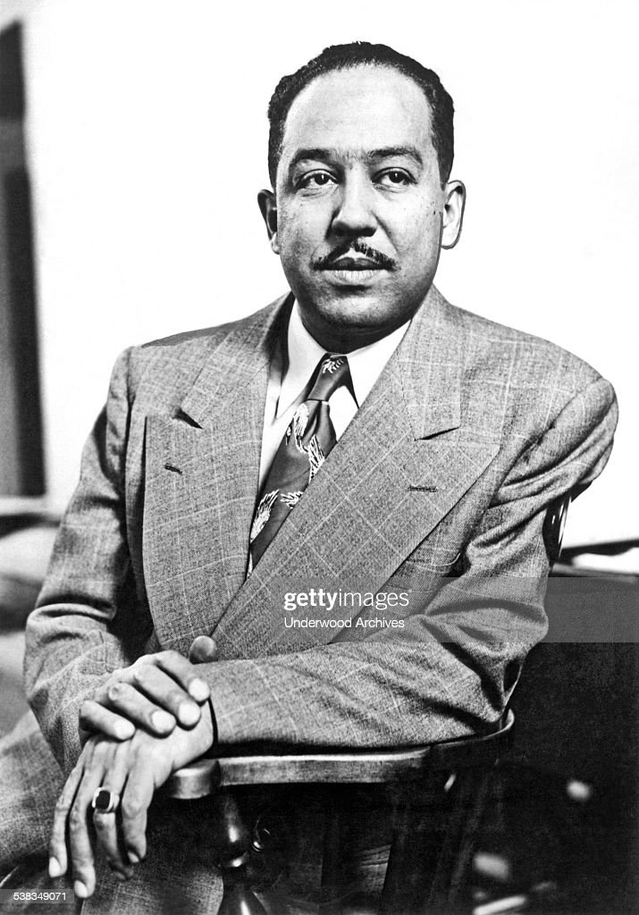 A portrait of poet, author, playwright and Harlem Renaissance leader Langston Hughes, New York, New York, February 1959.