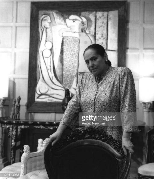 Portrait of Polishborn cosmetics tycoon and beautician Helena Rubenstein New York New York December 1 1948