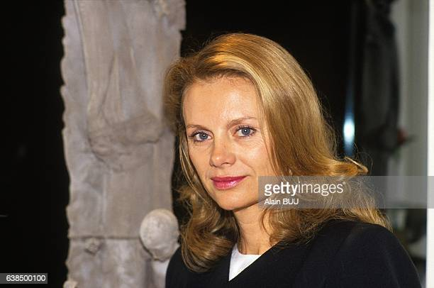 Portrait of politician Elisabeth Guigou in Paris France on October 4 1990