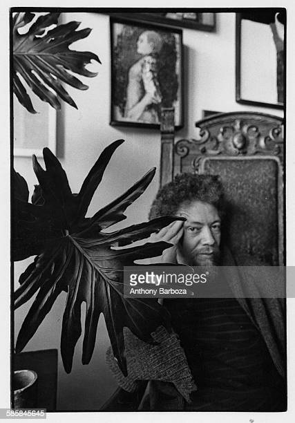 Portrait of Portrait of American artist Benny Andrews New York 1970s