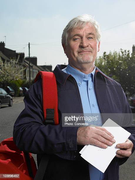 Portrait of postman