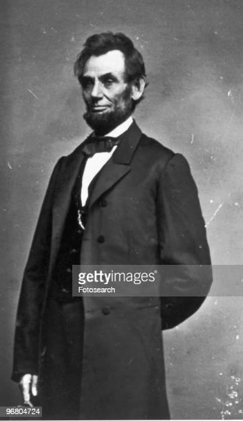 Portrait of President Abraham Lincoln circa 1860s