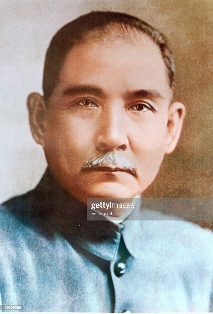 Portrait of President Sun Yat-sen, circa 1910s. (Photo by Fotosearch/Getty Images).