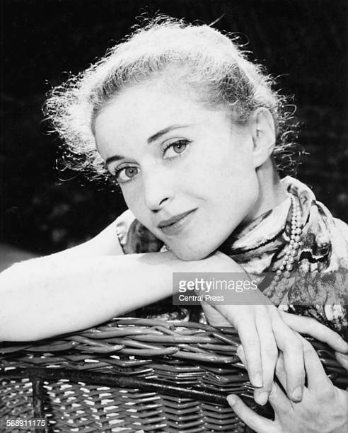 Portrait of prima ballerina Violette Verdy soon to star in the musical 'The Princess' London August 16th 1960