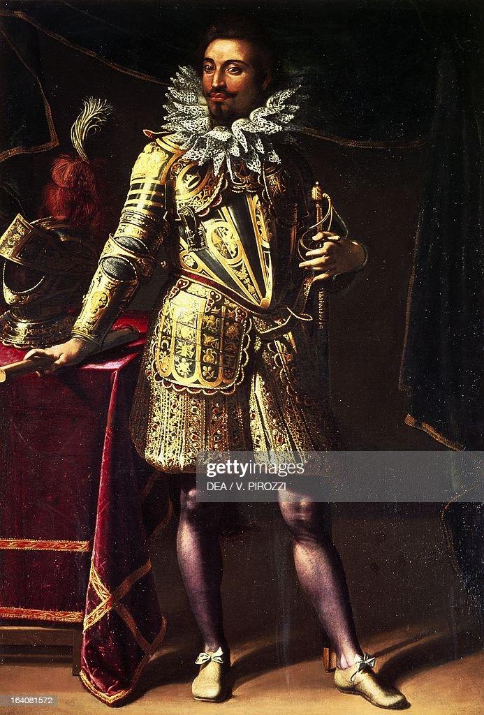 Portrait of Prince Michele Peretti by Pietro Fachetti painting Rome Galleria Nazionale D'Arte Antica Di Palazzo Corsini