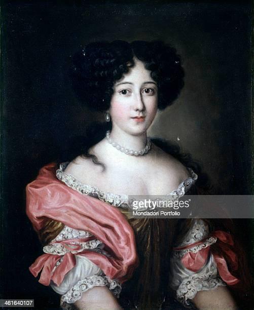 Portrait of Princess Giulia Colonna di Gallicano by Unknow Artist close to Jacob Ferdinand Voet also known as Ferdinando of Portraits 1663 1679 17th...