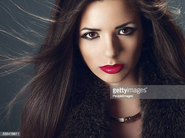 Portrait of professional hair and make up