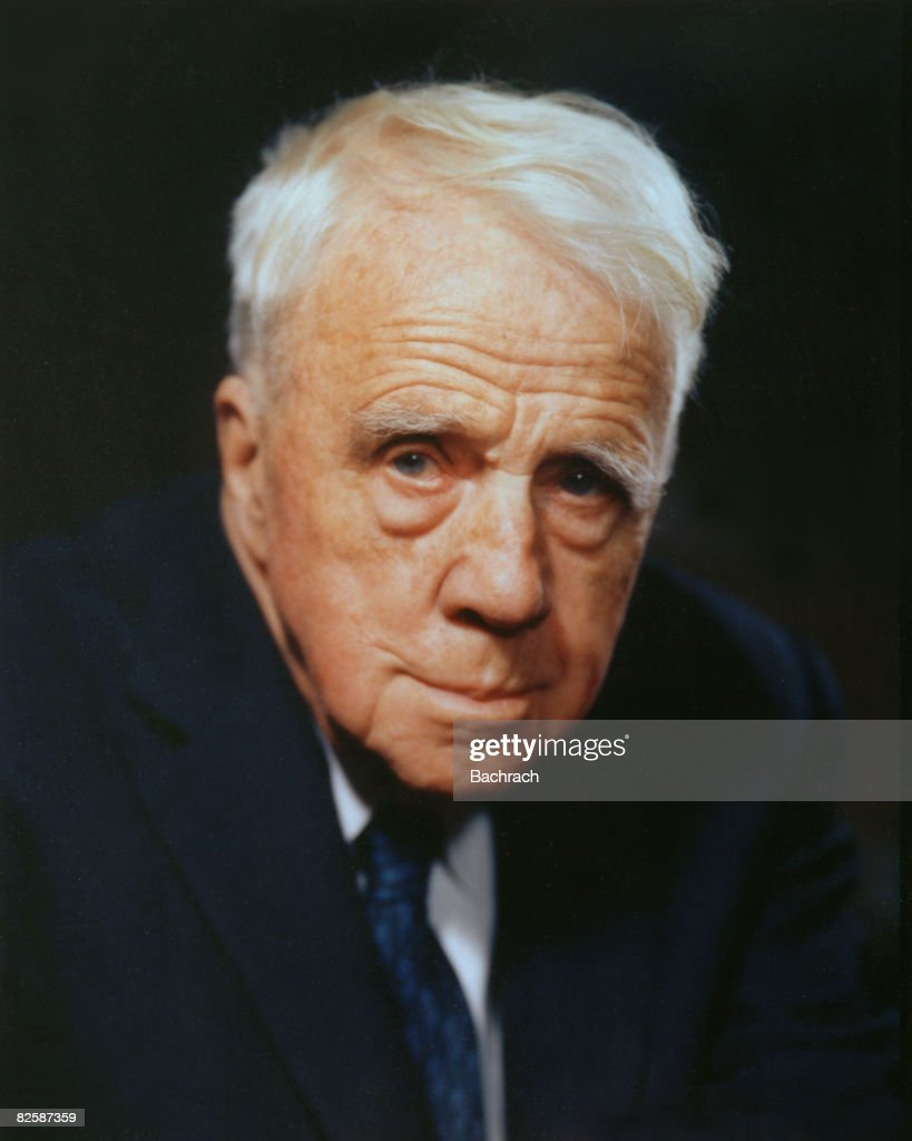 Portrait of Pulitzer Prize-winning American Poet Laureate <a gi-track='captionPersonalityLinkClicked' href=/galleries/search?phrase=Robert+Frost+-+Poet&family=editorial&specificpeople=213641 ng-click='$event.stopPropagation()'>Robert Frost</a> (1874 - 1963), 1960s.