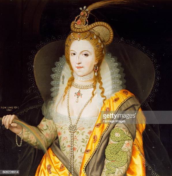Portrait of Queen Elizabeth I 1774 From the collection of Audley End House Essex Artist Biagio Rebecca