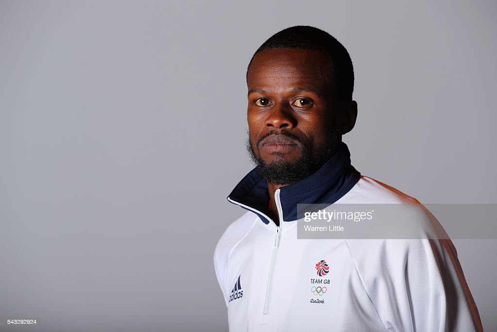 A portrait of Rabah Yousif a member of the Great Britain Olympic team during the Team GB Kitting Out ahead of Rio 2016 Olympic Games on June 27, 2016 in Birmingham, England.