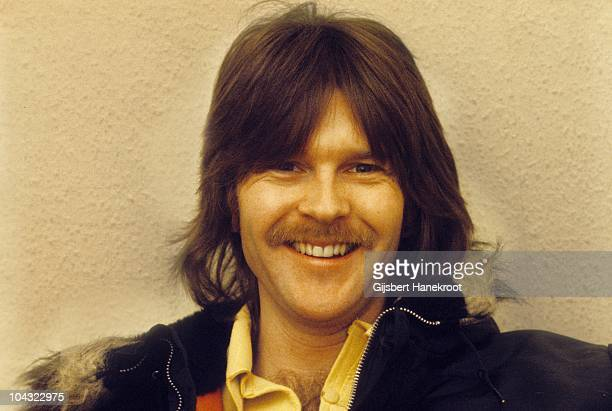 A portrait of Randy Meisner of The Eagles during an interview in London in 1973