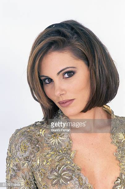 A portrait of Raquel Rodriguez Miss Spain 1994 15th December 1997 Madrid Spain