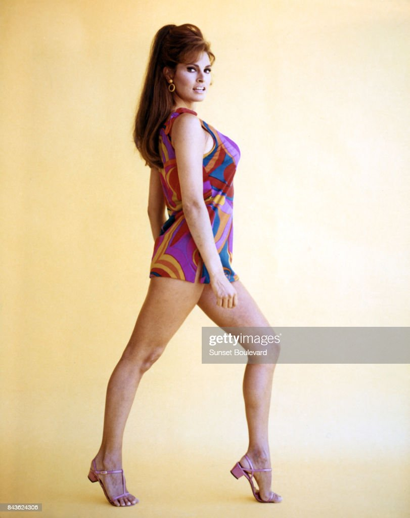 Portrait of Raquel Welch circa 1960