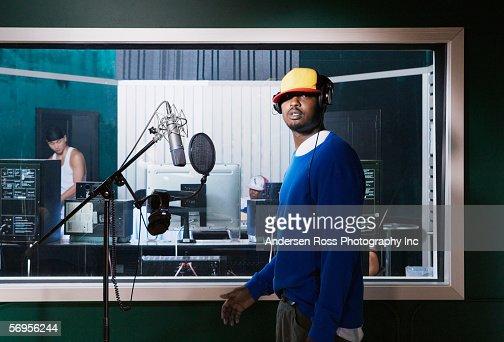 Portrait of recording artist