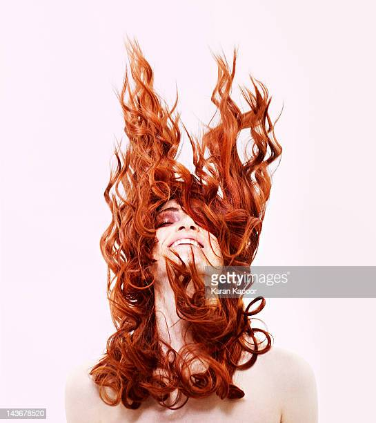 Portrait of Red Hair girl