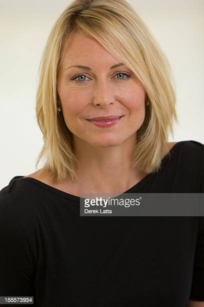 Portrait of Relaxed 40-something Blonde