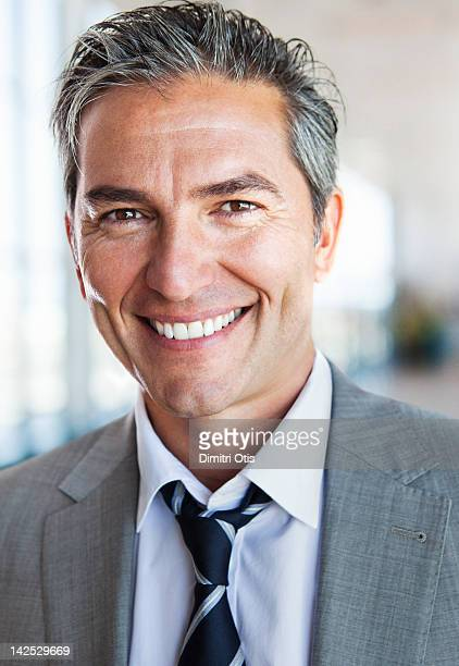 Portrait of relaxed, casual business man, smiling