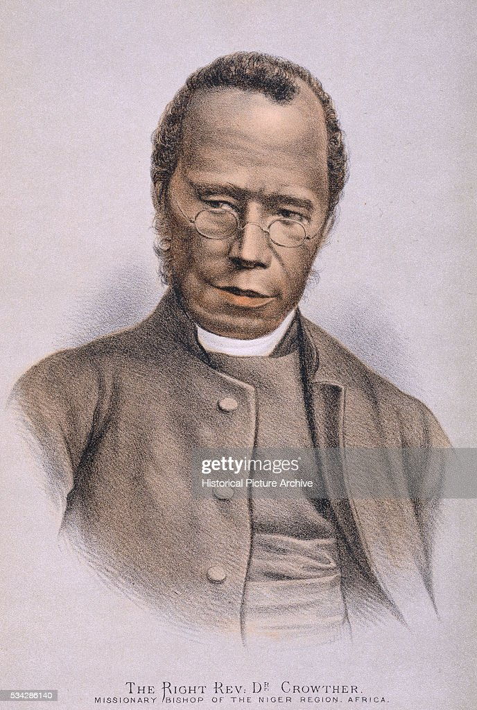 Portrait of Reverend Samuel Ajayi Crowther