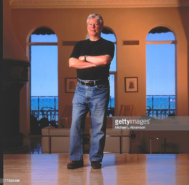 Portrait of Richard Thaler an economist and professor in Behavioral Science and Economics at the University of Chicago Booth School of Business...