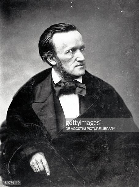 Portrait of Richard Wagner German composer Photograph by Pierre Petit Paris BibliothèqueMusée De L'Opéra National De ParisGarnier