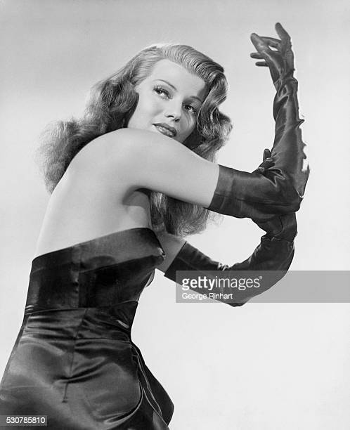 Portrait of Rita Hayworth This picture is one of the shoots in the film Gilda directed by Charles Vidor with George MacReady and Glenn Ford