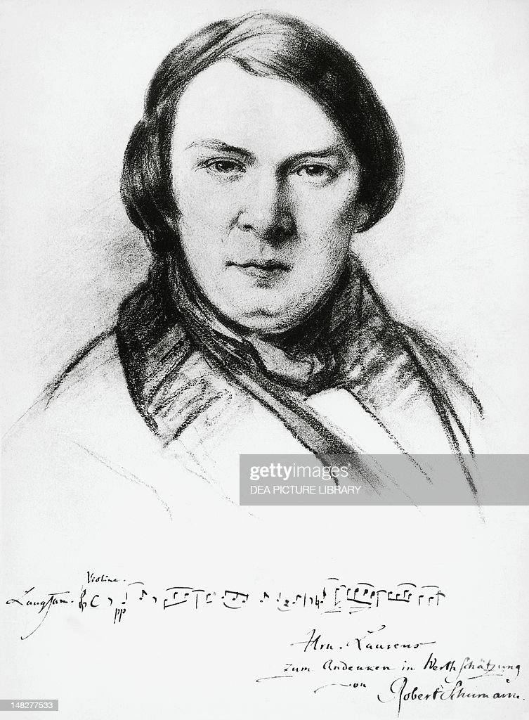 robert schumann Born in 1810 in zwickau, robert schumann was a german romantic composer  of the 19th century his main focus was the piano, an instrument for which he.