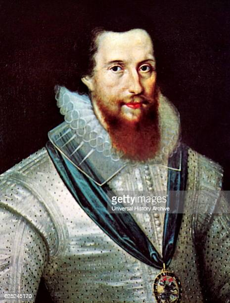 Portrait of Robert Devereux 2nd Earl of Essex an English nobleman and a favourite of Elizabeth I Dated 16th Century