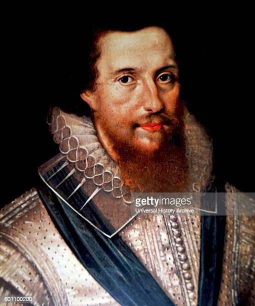 Portrait of Robert Devereux 2nd Earl of Essex an English nobleman Dated 16th Century