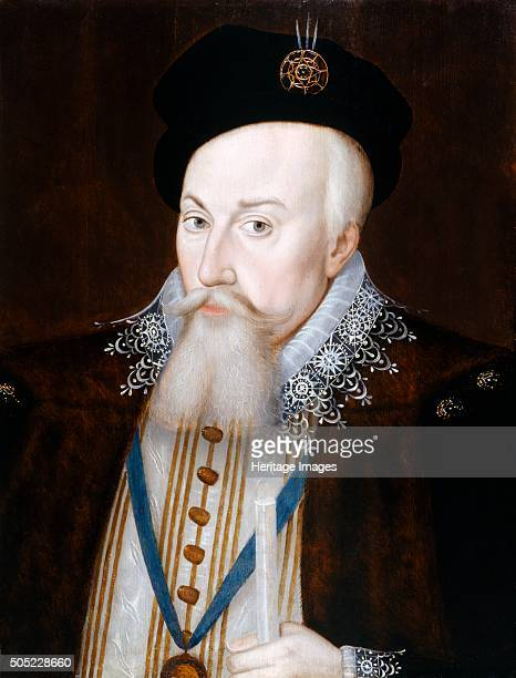 Portrait of Robert Dudley Earl of Leicester c1587 From the collection of Kenilworth Castle Warwickshire Artist William Segar