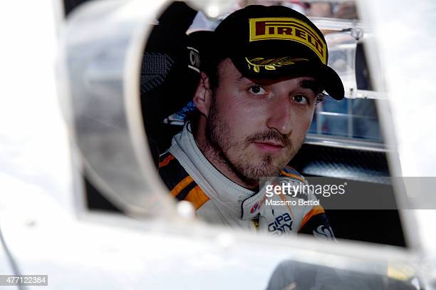 Portrait of Robert Kubica of Poland during Day Three of the WRC Italy on June 14 2015 in Alghero Italy