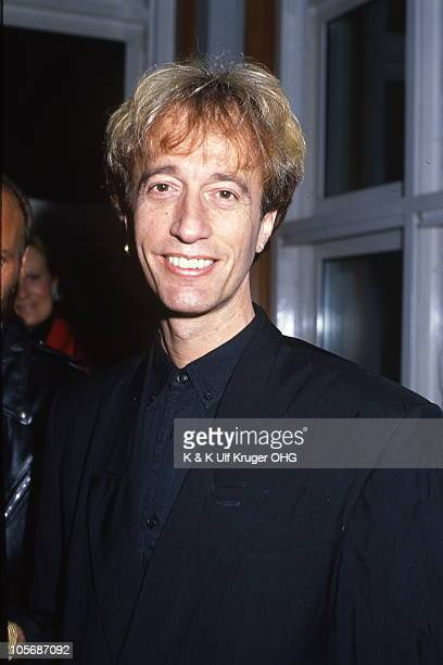 A portrait of Robin Gibb The Bee Gees during a presentation of gold discs in 1991 in Germany